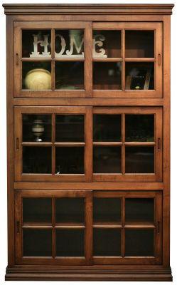Ordinaire Ansonia Sliding Door Bookcase