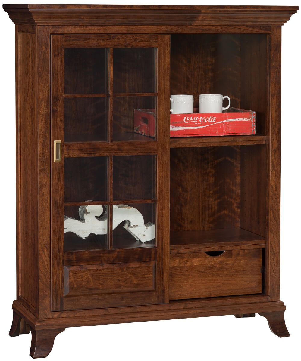 Amish Handmade Display Cabinet