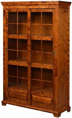 Granby Sliding Door Bookcase