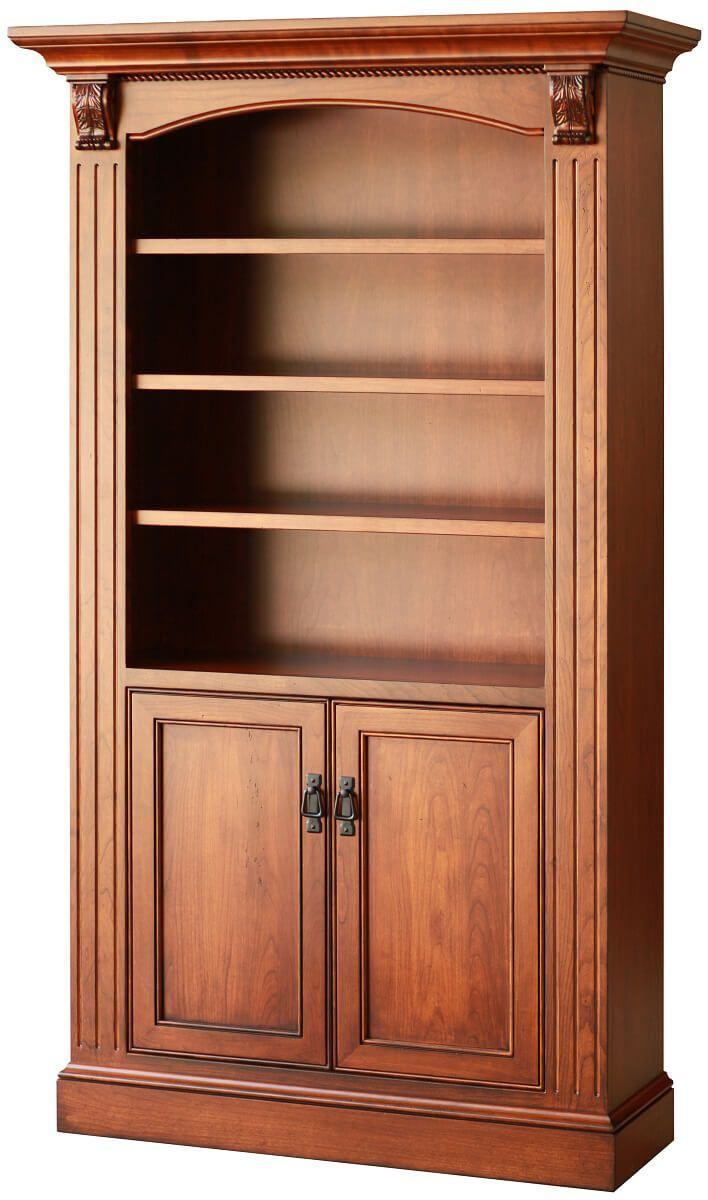 Harrison Bookcase with Doors