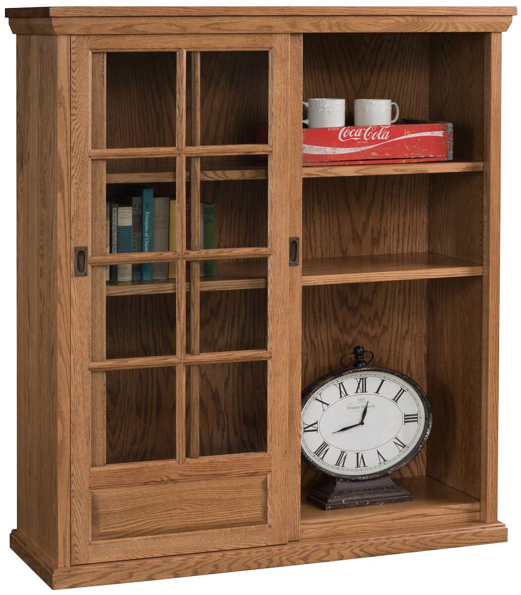 Meridian Sliding Door Bookcase