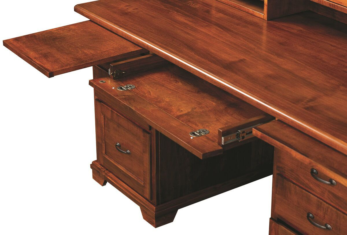 Brown Maple Office Desk