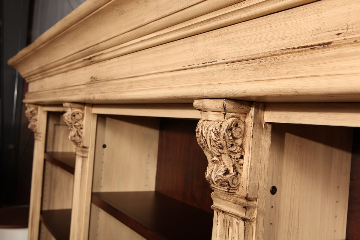 French Country Home Entertainment Wall Unit