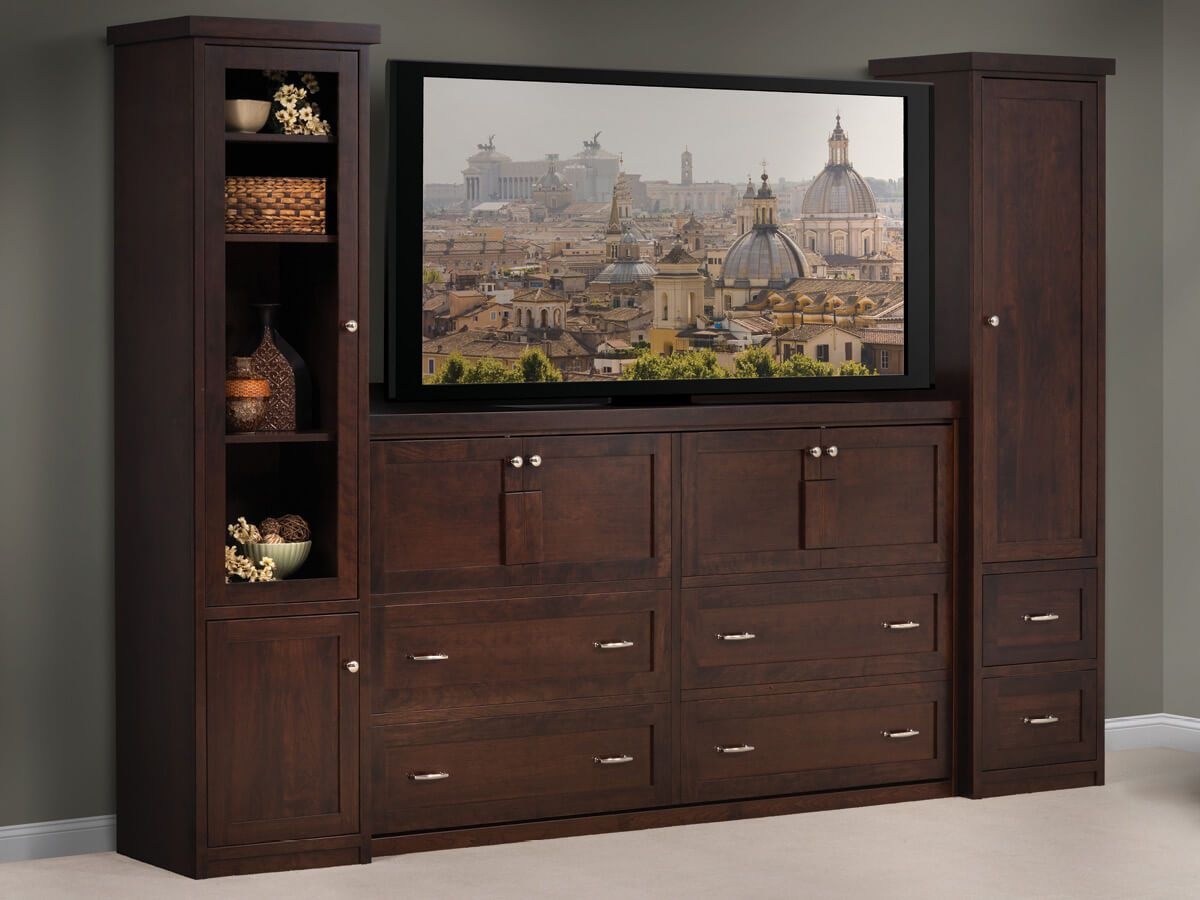 Murphy Bed with Entertainment Center