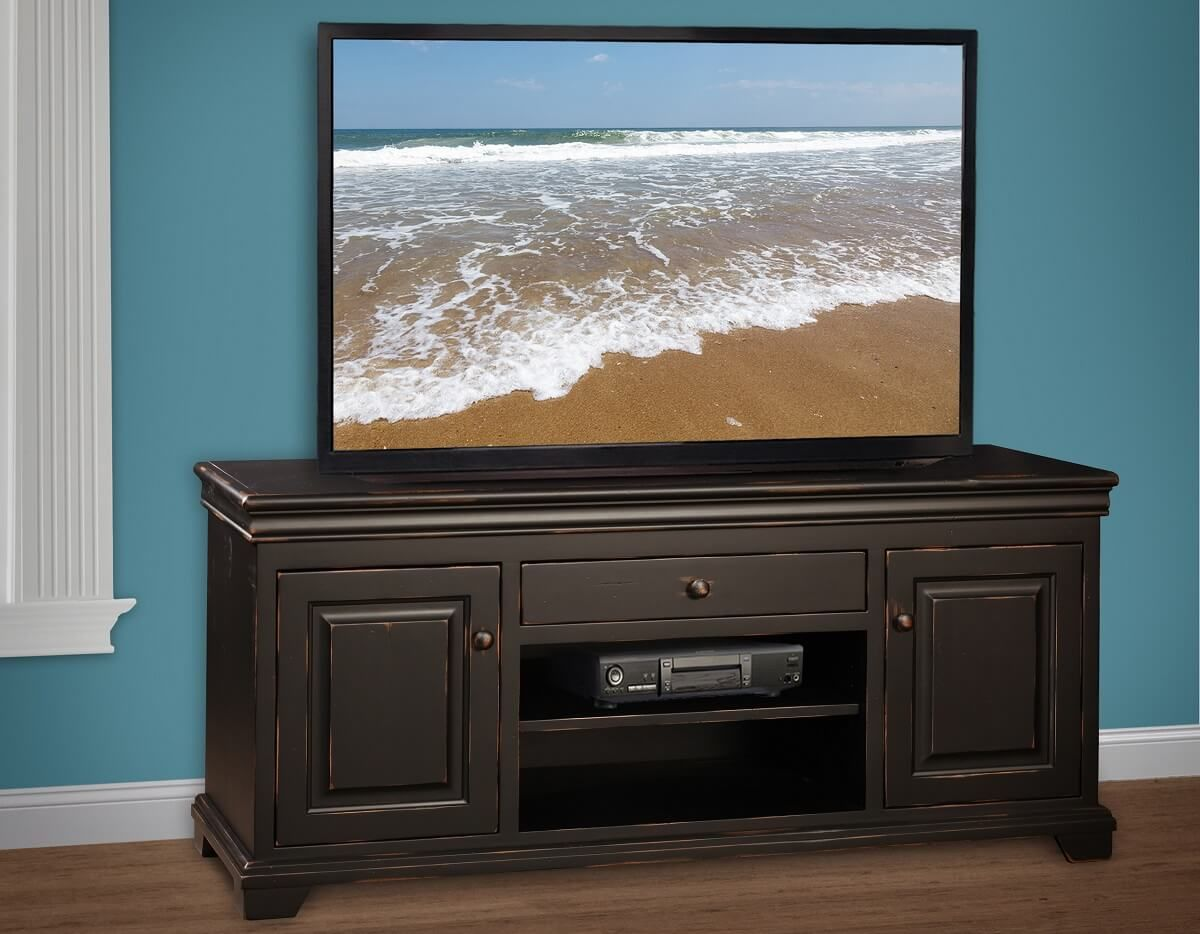 Amish Made Painted TV Console