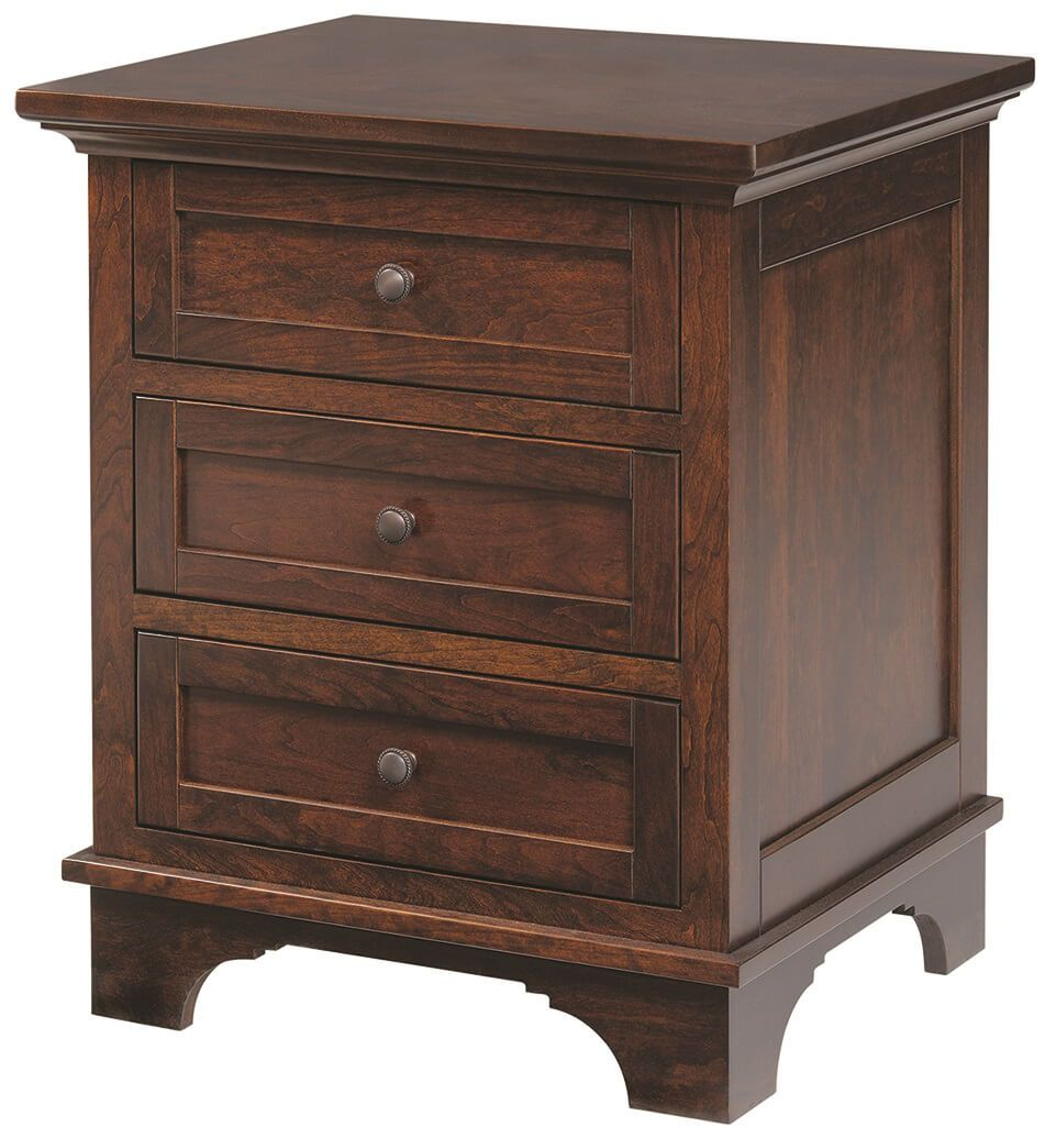 Beaumont 3-Drawer Nightstand