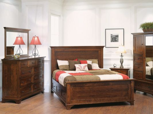 Beaumont Bed with Storage Set