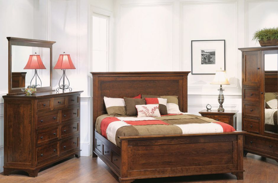 Beaumont Bedroom Furniture Set Countryside Amish Furniture
