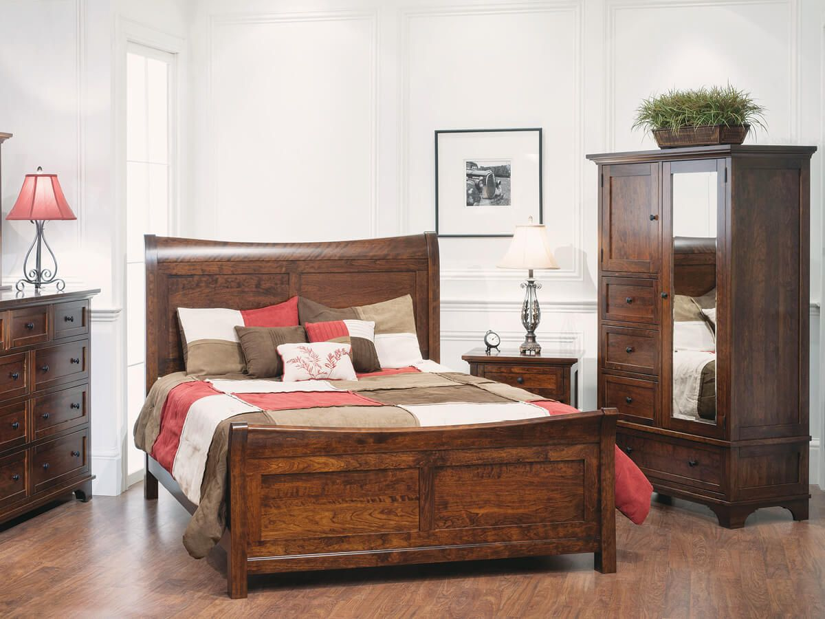 Shown with Beaumont Sleigh Bed