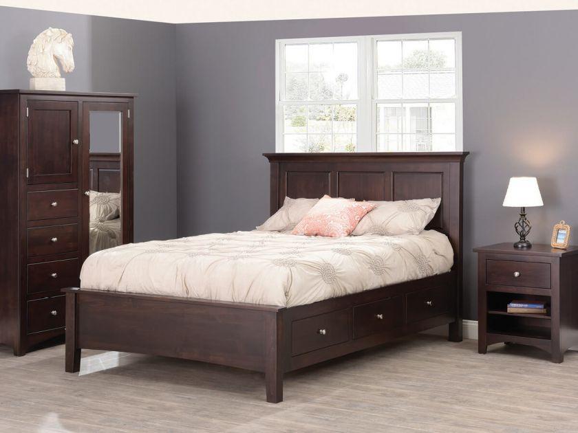 Bristol Bedroom Furniture Set Countryside Amish Furniture
