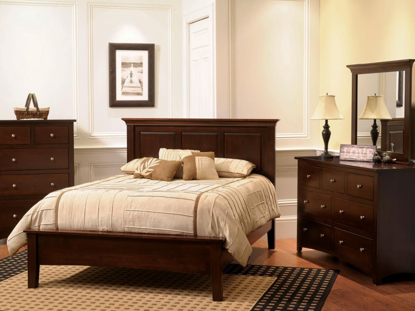 Bristol Bedroom Furniture Set Countryside Amish Furniture
