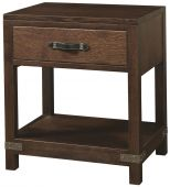 Bureau 1-Drawer Nightstand