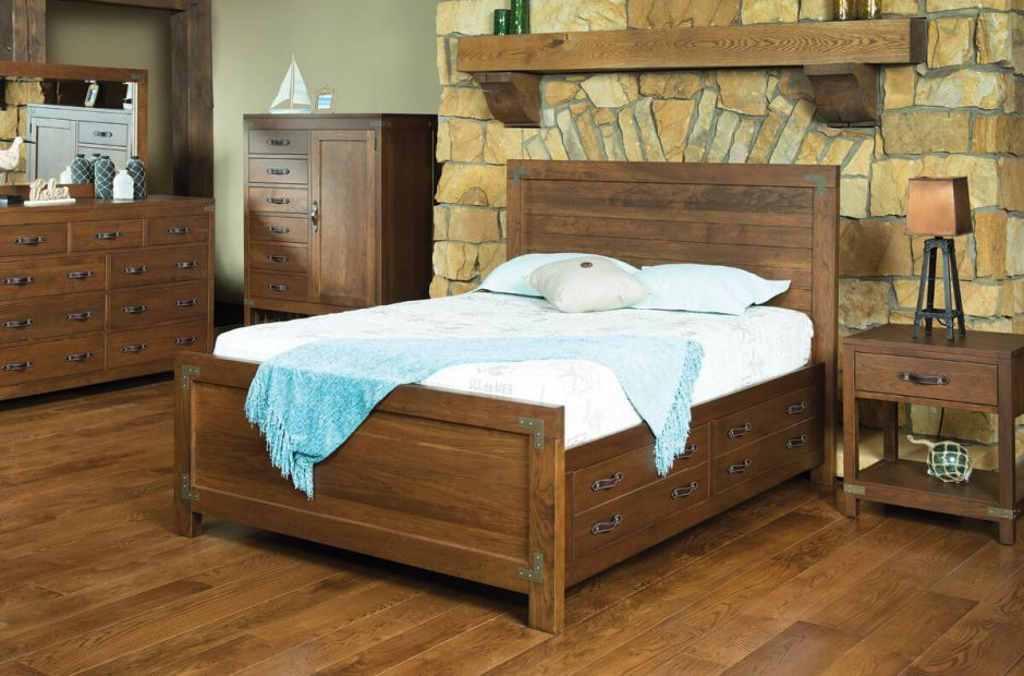 Bureau amish rustic bedroom set countryside amish furniture