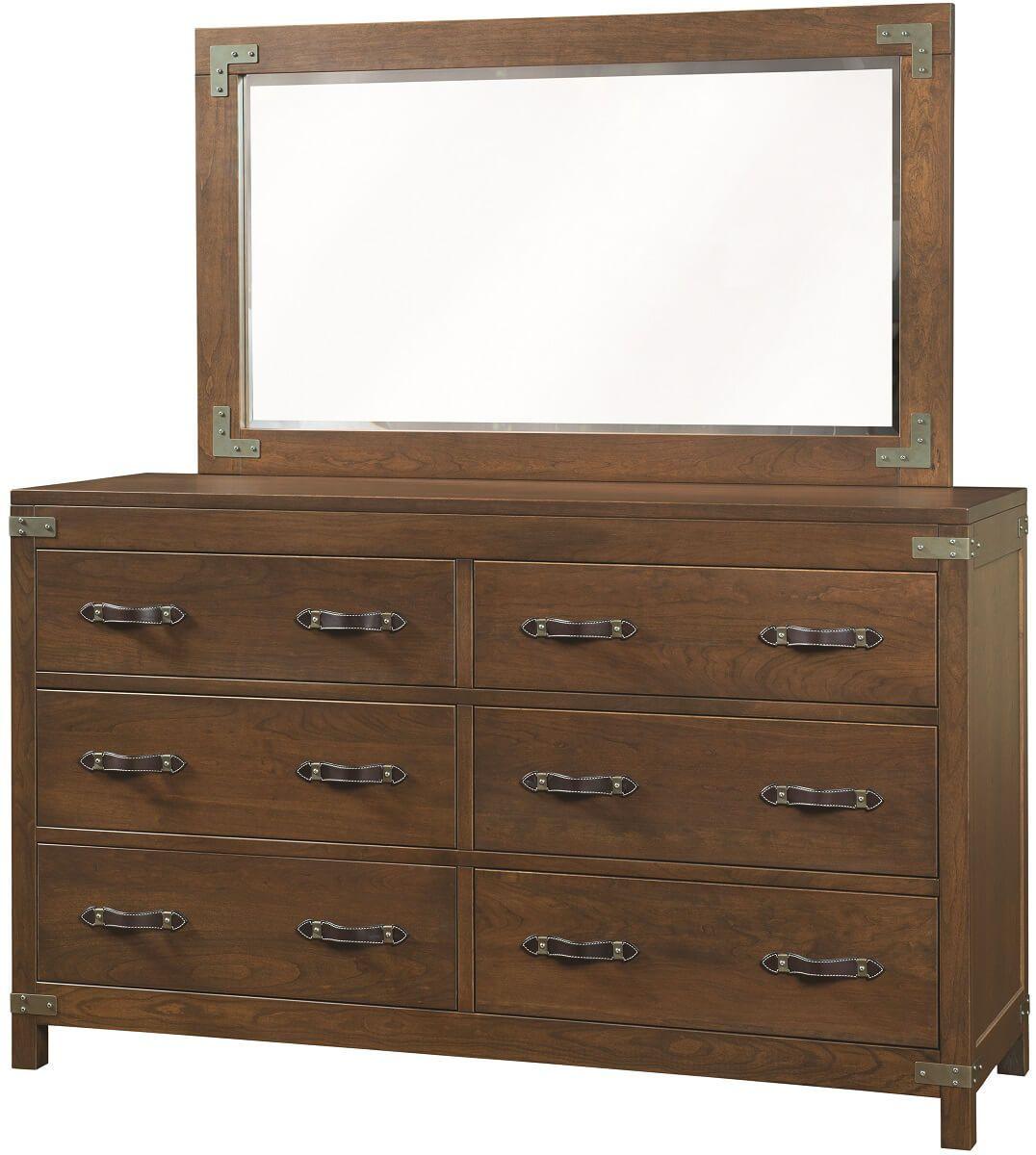 Bureau Dresser with Mirror