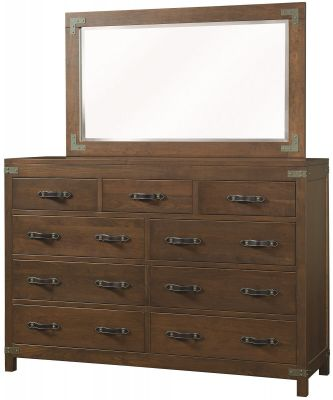 Bureau Grand Mirror Dresser
