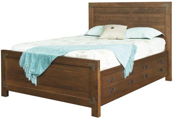 Bureau nautical modern storage bed countryside amish furniture
