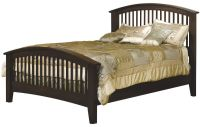 Cannes Mission Arched Slat Bed