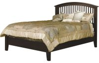 Cannes Mission Bed with Low Footboard