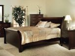 Cannes Mission Sleigh Bedroom Set