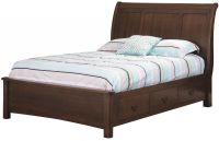 Ludington Storage Sleigh Bed