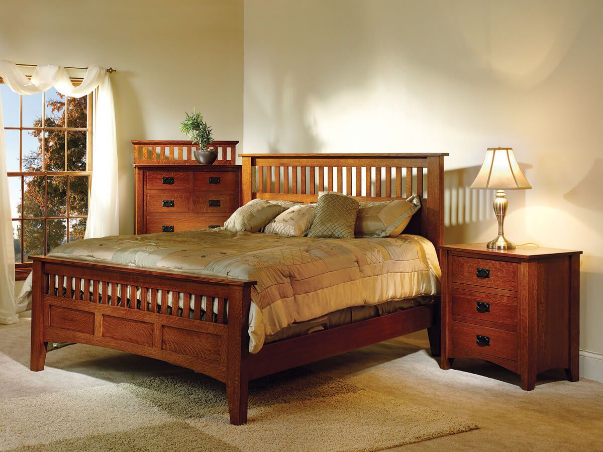 Madrid Mission Bedroom Furniture Collection