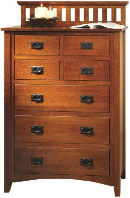 Madrid Mission Chest of Drawers