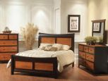 Two Toned Amish Bedroom Set