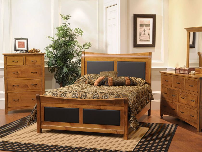 . Manchester Shaker Style Bedroom Set   Countryside Amish Furniture