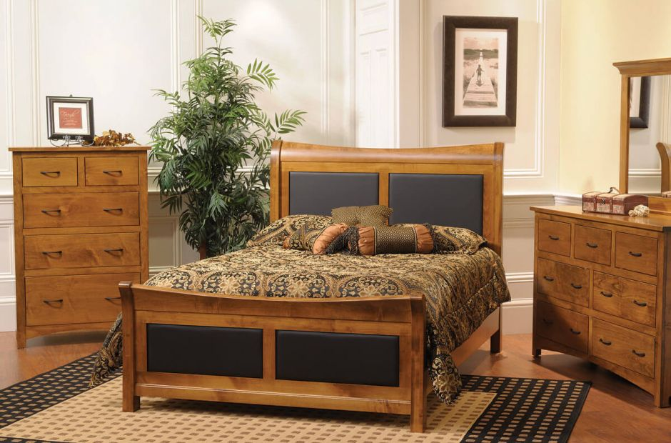 Manchester Shaker Style Bedroom Set Countryside Amish