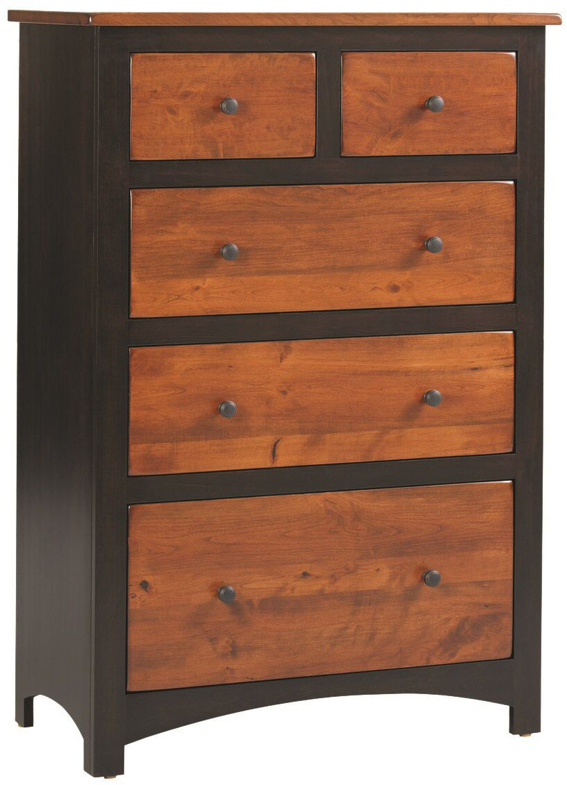 Two Tone Manchester Chest of Drawers
