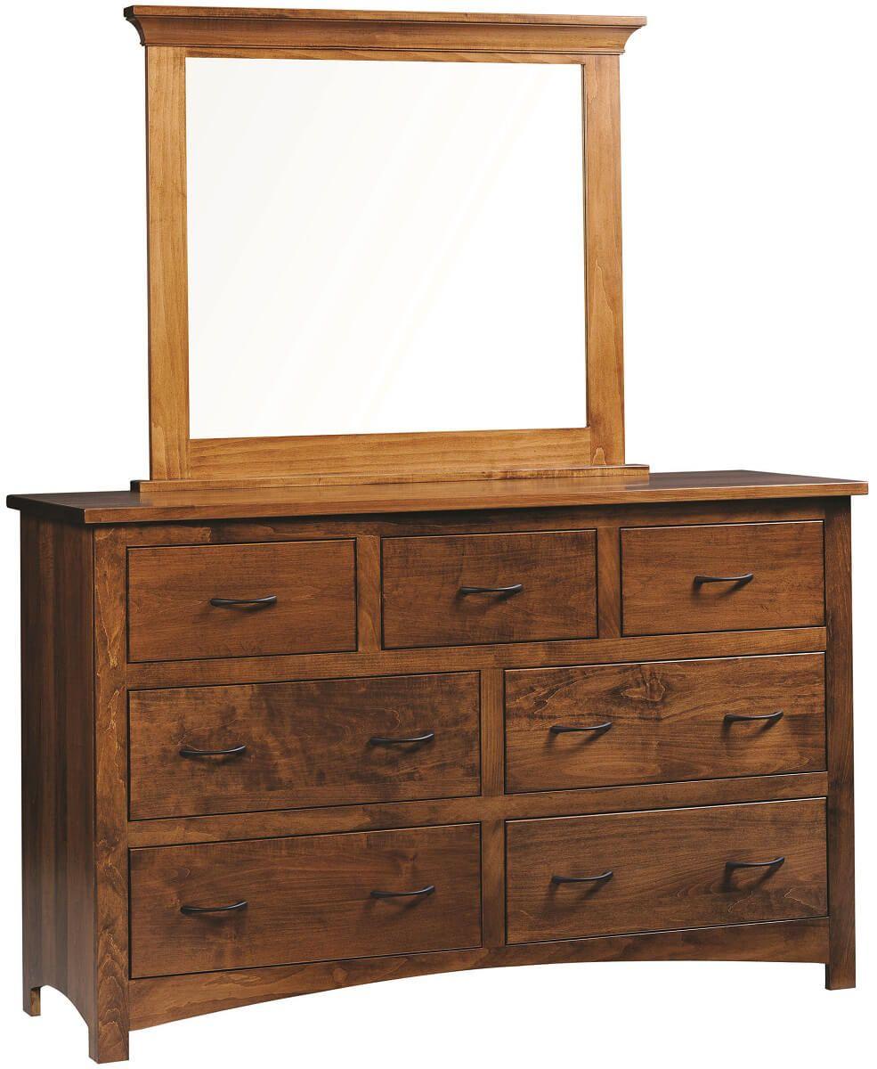 Brown Maple Dresser