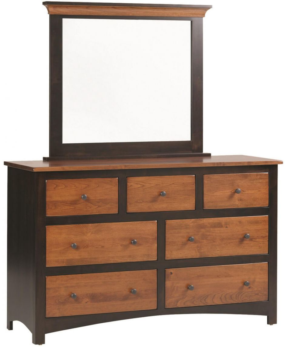 Manchester dresser and mirror amish 28 images modern for Bureau gallery manchester