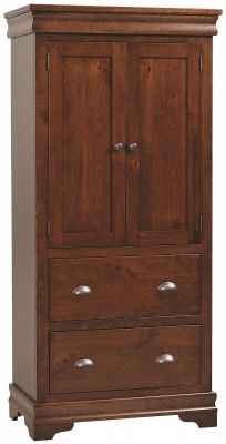 Marseille Solid Wood Bedroom Armoire