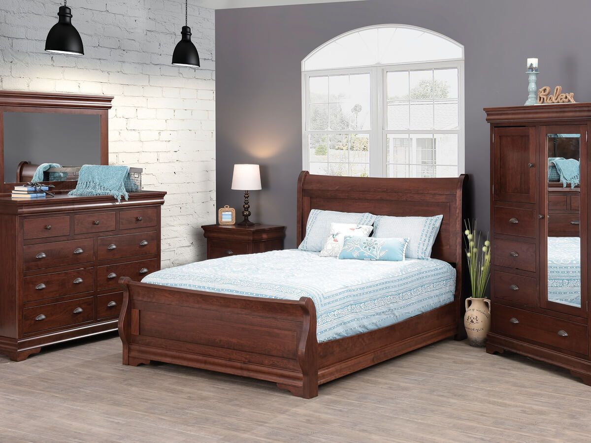 Solid Wood Marseille Bedroom Collection