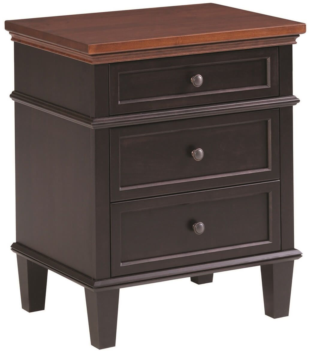 Melrose 3-Drawer Nightstand