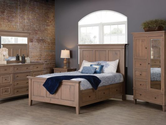 Transitional Amish Bedroom Furniture