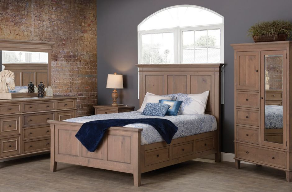 Melrose Bedroom Furniture Set image 2