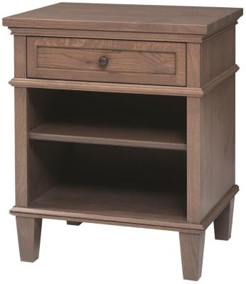Shown in Quartersawn White Oak