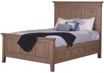 Melrose Storage Bed  sc 1 st  Countryside Amish Furniture & Solid Wood Storage Beds - Countryside Amish Furniture