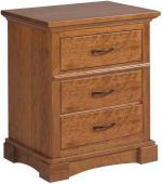 Northbrook 3-Drawer Nightstand