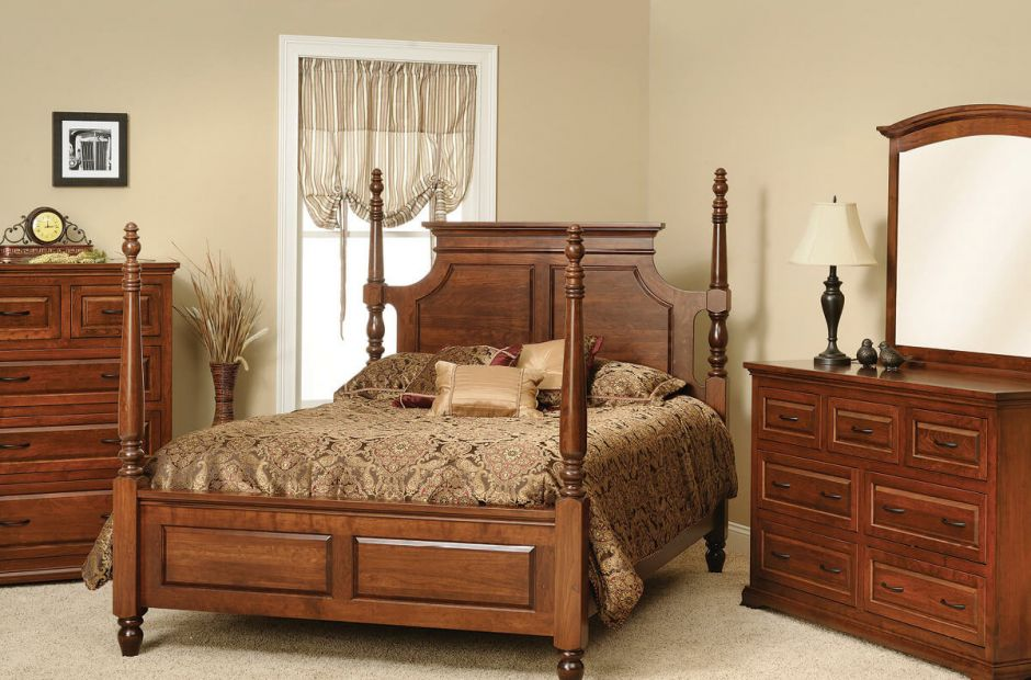 Oxford Classic Bedroom Furniture Set - Countryside Amish ...
