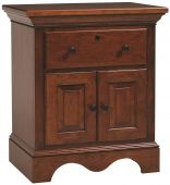 Syrah Nightstand with Doors