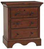 Syrah Nightstand with Drawers
