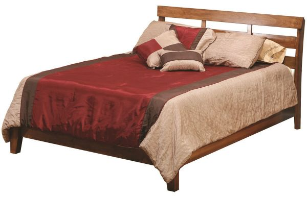 Wellington wooden slat bed countryside amish furniture for Beds wellington