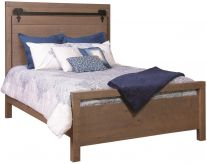 Wesley Barn Door Panel Bed