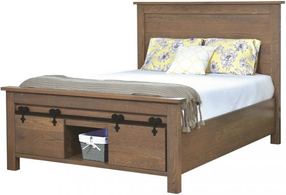 Wesley Footboard Storage Bed