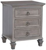 Autryville 3-Drawer Nightstand