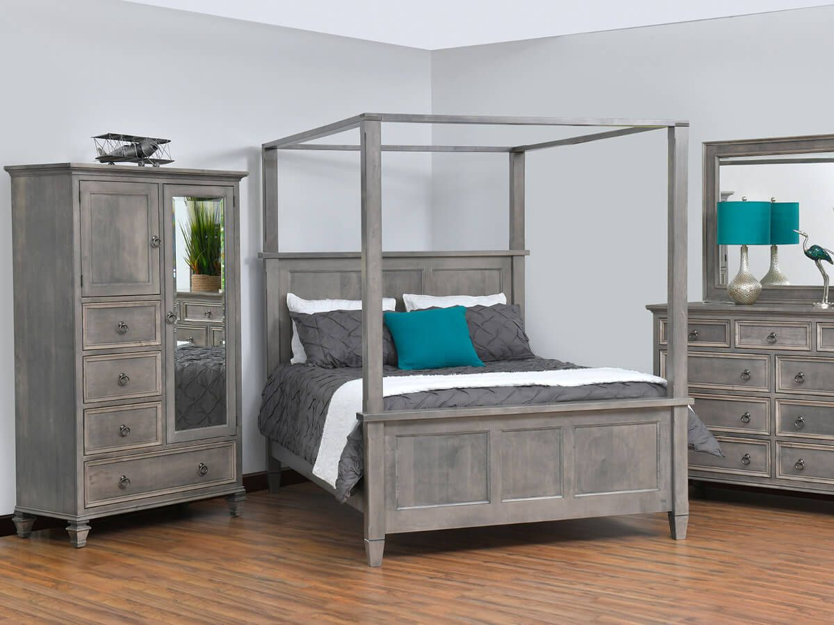 Brown Maple Bedroom Set