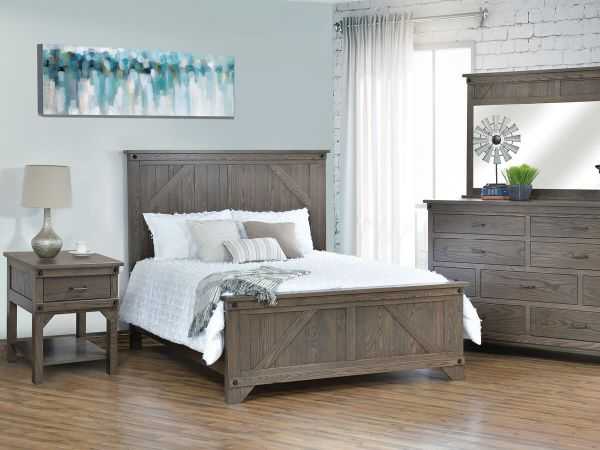 captivating amish farmhouse bedroom furniture | Papillion Farmhouse Bedroom Set - Countryside Amish Furniture