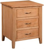 Avery 3-Drawer Nightstand
